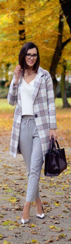 Checkered Coat / Fashion By Daisyline