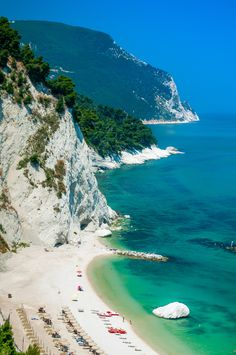 Conero Riviera - Beautiful city on the sea, Ancona, Marche, Italy We visited in 2009 and I would love to go back and see some old friends! Places To Travel, Places To See, Beach Vibes, Places In Italy, Italy Travel Tips, Visit Italy, Italy Vacation, Zurich, Places Around The World