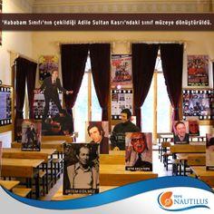 Türk sinemasının klasiklerinden, Rıfat Ilgaz'ın aynı adlı eserinden uyarlanan 'Hababam Sınıfı'nın çekildiği Adile Sultan Kasrı'ndaki sınıf müzeye dönüştürüldü.