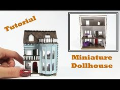Miniature Dollhouse Projects - My Small Obsession Dollhouse Miniature Tutorials, Dollhouse Toys, Modern Dollhouse, Miniature Crafts, Miniature Houses, Miniature Dolls, Dollhouse Miniatures, Dollhouse Ideas, Victorian Dollhouse
