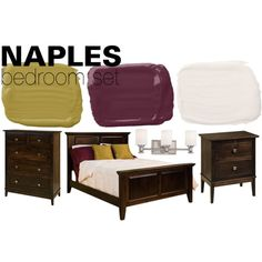 Naples Bedroom Set by countryside-amish-furniture on Polyvore featuring interior, interiors, interior design, home, home decor, interior decorating, Minka, bedroom, modern and contemporary