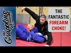 The Fantastic Forearm Choke! Jiu Jitsu Techniques, Brazilian Jiu Jitsu, Aikido, Judo, Self Defense, Black Belt, Mma, Martial Arts, Exercise