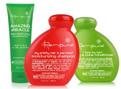 Renpure Shampoos & Conditioners - These are the best I have ever used. I have very thin, curly hair and the volumizing shampoo makes my hair look good and feel great.