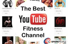 The Best YouTube Fitness Channels | via @SparkPeople #video #workout #exercise #free