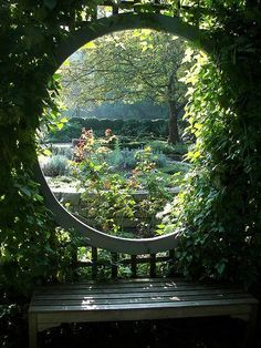 Garden Types Most Extraordinary Japanese Garden Ideas To Give You A Peaceful Place 37 The Secret Garden, Secret Gardens, Garden Gazebo, Backyard Gazebo, Garden Doors, Garden Types, Nature Aesthetic, Garden Cottage, Fairytale Cottage