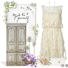 Be Good to Yourself by skpg on Polyvore featuring Monsoon, claire's, OroClone, Alexis Bittar, Alice + Olivia and Ralph Lauren Home