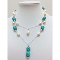 Double Pearl & Turquoise