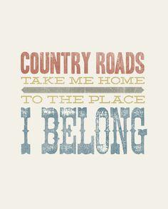 Country Roads! www.titanoutletstore.com