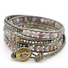 Free Wrap Bracelet Project   Tricks to Laddering- Sage – Beadshop.com