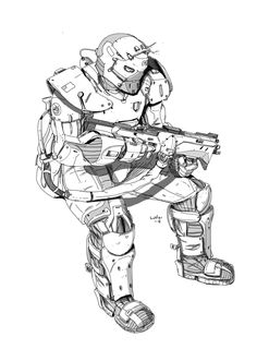 Sketch , Dan LuVisi  on ArtStation at https://www.artstation.com/artwork/sketch-3b8443b5-3d5c-4c61-842b-2d216eb9ac4f