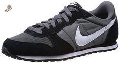 Nike Women's Genicco Dark Grey/White/Black Ankle-High Synthetic Fashion Sneaker - 6M - Nike sneakers for women (*Amazon Partner-Link)