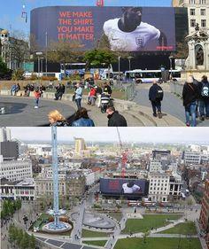 blowUP Media Make England Larger Than Life     http://outofhomeinternational.blogspot.co.uk/2013/05/blowup-media-make-england-larger-than.html