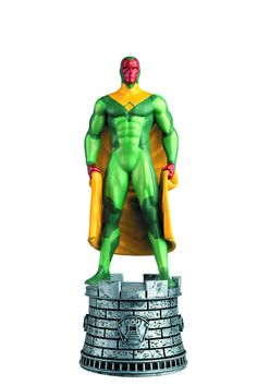 Eaglemoss Marvel Comics Chess Vision Figurine  #FanboyCollect www.FanboyCollectibles.com