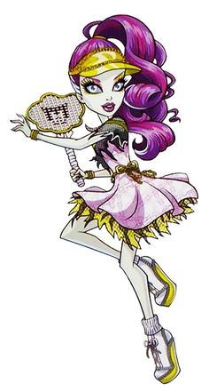 All about Monster High: Monster of the day; Spectra Vondergeist!!! meet her!