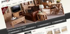 Prestige Furniture online has finally launched!  Great work by the whole team