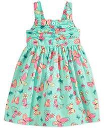 Blueberi Boulevard Baby Girls' Butterfly Dress