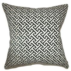 The Pillow Collection Quentin Geometric Bedding Sham