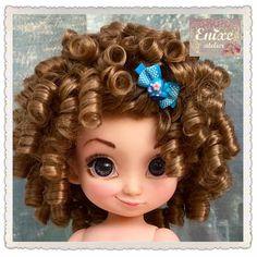 Disney animator Merida ooak custom enixeatelier by Enixeatelier on DeviantArt Doll Wigs, Ooak Dolls, Art Dolls, Disney Princess Dolls, Disney Dolls, Doll Hair Detangler, Newberry Dolls, Doll Drawing, Disney Animator Doll