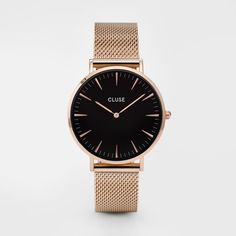 La Bohème Mesh Rose Gold/Black