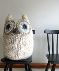 Big Snowy Owl by thepurlbee    DIY