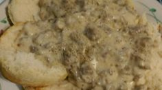 No one will leave the table hungry after a breakfast of biscuits and hearty Southern-style sausage gravy.