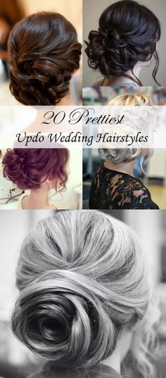 top 20 most fabulous updo wedding hairstyles