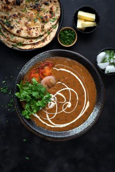 Slow cooked restaurant style dal makhani recipe with step by step photos. An authentic Punjabi dal makhani recipe of black dal (urad dal or kaali dal in hindi) & rajma cooked with spices, cream and butter. Veg Recipes, Kitchen Recipes, Slow Cooker Recipes, Indian Food Recipes, Vegetarian Recipes, Cooking Recipes, Punjabi Recipes, Dinner Recipes, Lentil Recipes