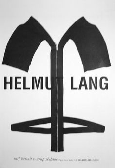 Helmut Lang campaign  SS 2003