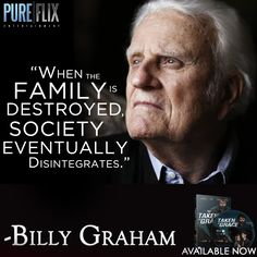 When the family is destroyed society eventually disintegrates. Faith Quotes, Wisdom Quotes, Bible Quotes, Words Quotes, Wise Words, Bible Verses, Sayings, Billy Graham Quotes, Rev Billy Graham