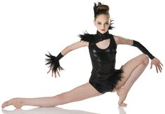 Bootytard: Foil ;  Vest: (Removable) Sequin spandex and foam  ;  Trim: Feathers ;  HEADPIECE AND ARM MITTS INCLUDED ;  COLORS: 28307-51 Black ;  28307-60 White ; #dancecostumes #dance #dancecompetition #artstonethecompetitor #moderndance #lyricalmodern #lyricaldance Modern Contemporary Dance, Contemporary Dance Costumes, Modern Dance, Lyrical Dance, Jazz Shoes, Dance Instructor, Dance Tights, Ballet Tutu, Ballet Costumes