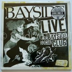 Bayside - LIVE at the Bayside Social Club Vinyl - First Press LP — only at SoldOutVinyl.com