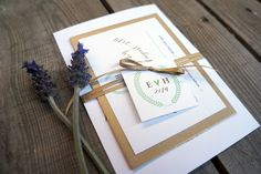 Wedding Invitations - Garden No. Elegant typographic design, single colour, ribbon and swing tag detail. Garden Wedding Invitations, Wedding Invitation Templates, Wedding Stationery, Paper Store, Swing Tags, Typographic Design, Thank You Cards, Your Cards, Gift Wrapping