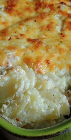 Pepper Jack Scalloped Potatoes Recipe ~ That spicy, wonderful hot pepper flavor…