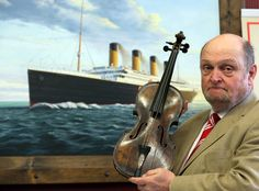 The violin from the Titanic is set to be auctioned off