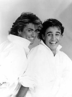 George Michael and Andrew