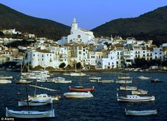 Spain - The port town of Cadaques, once described by Salvador Dali as 'the loveliest place in the world'