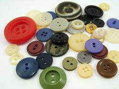 Sorting colored buttons can be a rewarding activity for Alzheimer's sufferers.