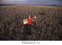A young girl experiments with solar energy.