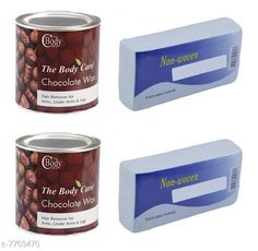 Checkout this latest Gels & Waxes Product Name: *The BODYCARE Chocolate Hot Wax with Strips for Hair Removal 600gm Pack of 2* Product Name: The BODYCARE Chocolate Hot Wax with Strips for Hair Removal 600gm Pack of 2 Type: Paste Multipack: 2 Country of Origin: India Easy Returns Available In Case Of Any Issue   Catalog Rating: ★4.2 (816)  Catalog Name: BODYCARE Sensational Ultimate Gels & Waxes CatalogID_1266533 C174-SC1955 Code: 033-7763470-005
