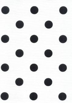 Perfect fabric for upholstery, drapery, or pillows. Black And White Fabric, Sweet 16 Parties, Design Inspiration, Journal Inspiration, Drapery, Cotton Fabric, Upholstery, Polka Dots, Pillows