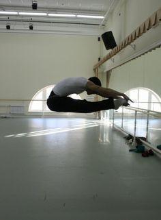 Vaganova Ballet Academy student Vladislav Makarov (2011 graduate, current Mariinsky corps de ballet member).