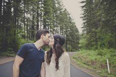 Romantic Woodland Engagement Shoot | Bridal Musings