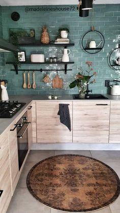 Home Decor Kitchen, New Kitchen, Home Kitchens, Kitchen Ideas, Kitchen Island, Home Interior, Interior Design Kitchen, Küchen Design, House Design