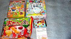 "$19.99  Japanese Snack SET of 4 Mokomoko Mokolette, Odangoyasan, Gaburi ""FREE AIRMAIL Shipping"""