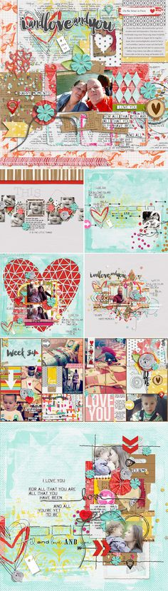 CT INSPIRATION using I And Love And You: Bundle by Studio Basic