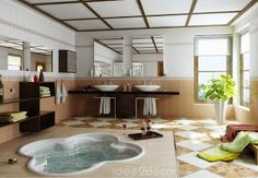 Get luxury bathroom design and decoration inspiration on Construction Markets http://www.constructionmarkets.com/decor