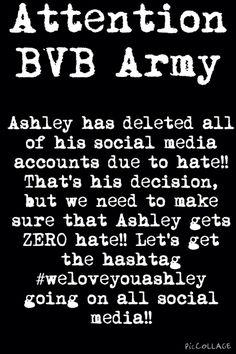 #weloveyouashley>>#bringbackashleybvb