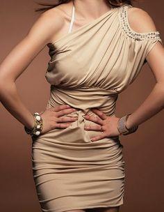 Elegant cocktail mini dress