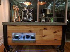 Tiamo Bamboo Cold Drip | Profitec Pro 700 | Custom Coffee Cart