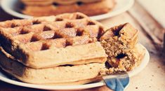 Protein Waffles Recipe- i'm so trying this! making this in the AM for the guys & me ;)